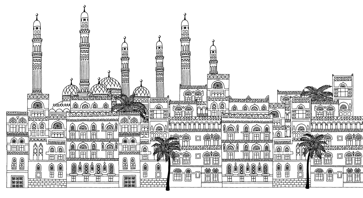 City of Sanaa Drawn