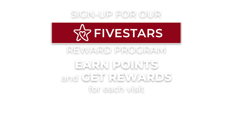 Fivestars Reward Program