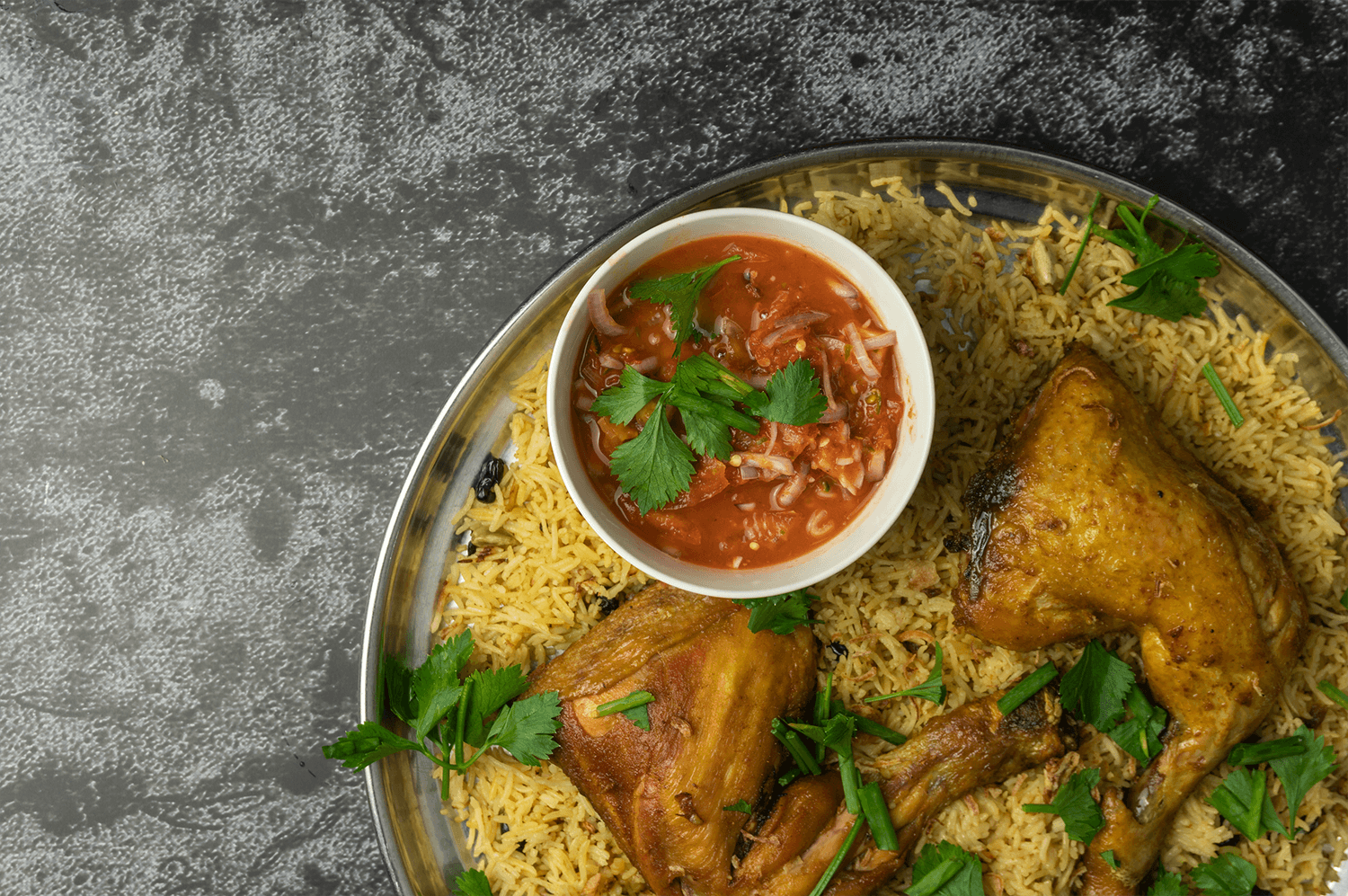 Chicken Mandi: Yemeni Favorites
