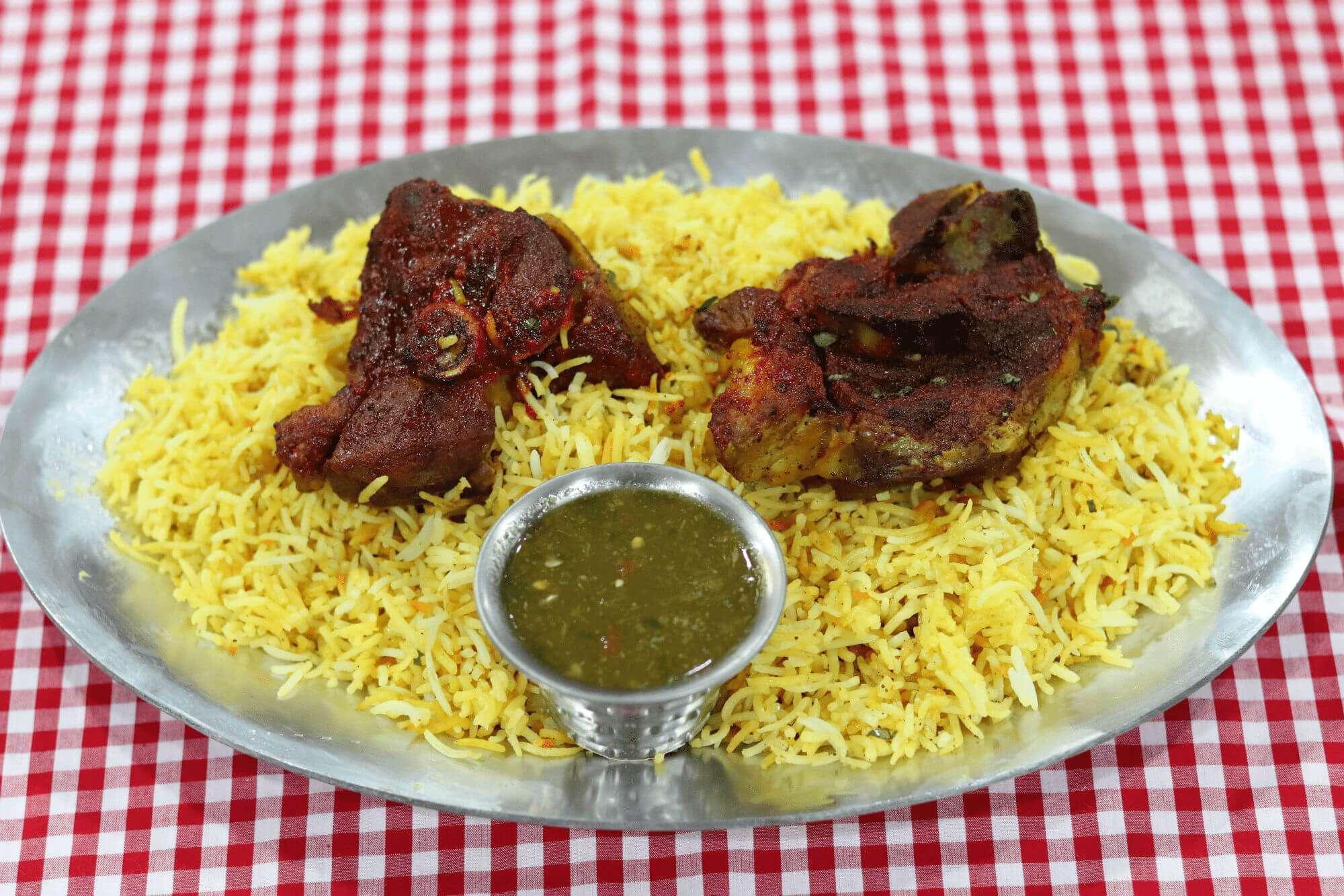 Shibam Restaurant Mandi Lamb