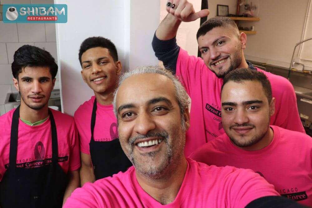 Shibam Restaurant Team boys